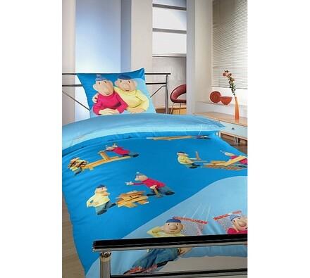 Dětské bavlněné povlečení Pat a Mat, 140 x 200 cm, 70 x 90 cm