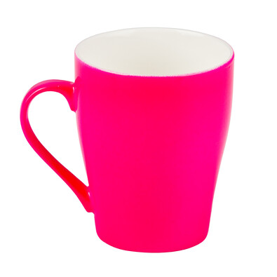 Florina Neonový hrnek 300 ml, růžová