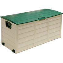 Fieldmann FDD 1002G Zahradný plastový box s s kolieskami