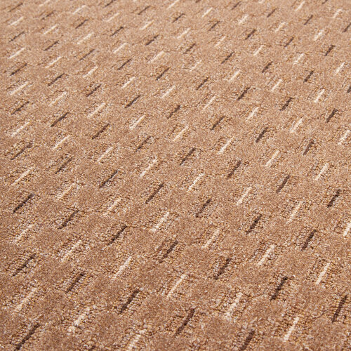 Kusový koberec Valencia hnedá, 100 cm