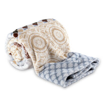 4Home Soft Dreams Circles takaró, bézs, 150 x 200 cm