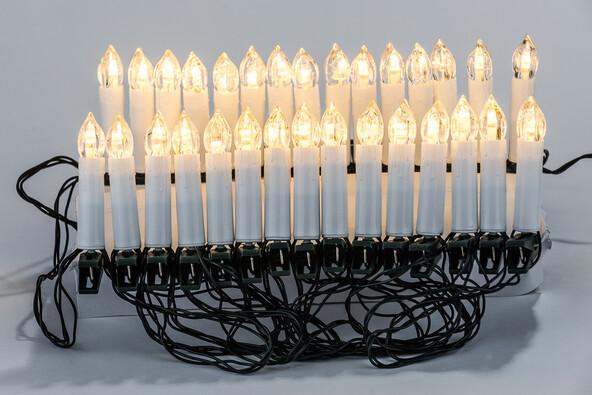 Candle Lights karácsonyi LED fényfüzér, 30 LED