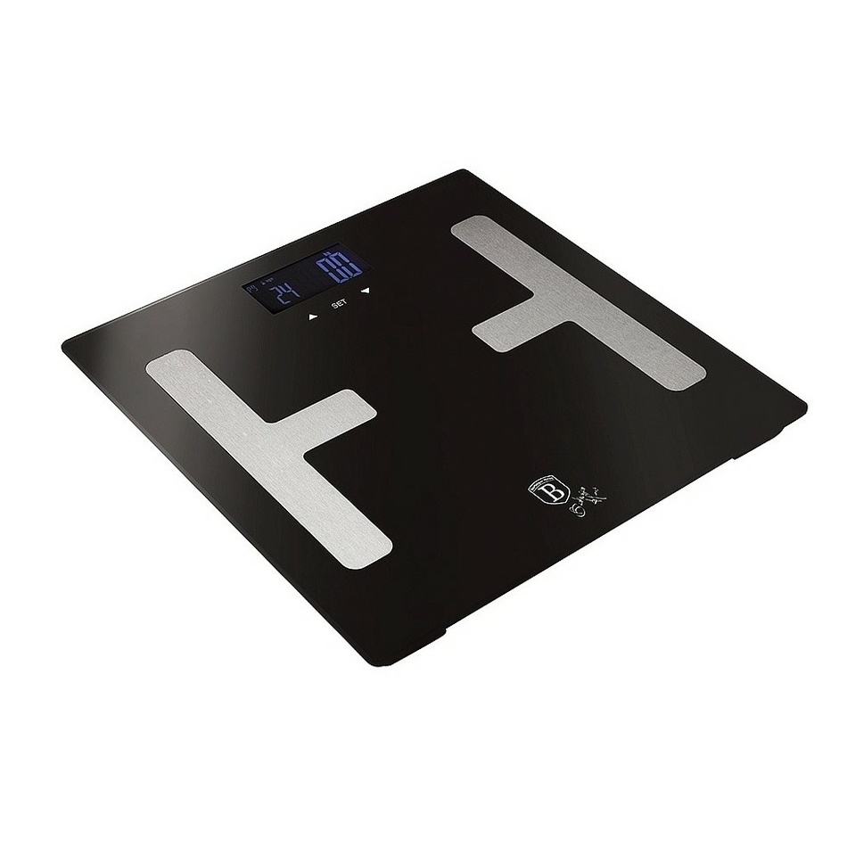 Berlingerhaus Smart s tělesnou analýzou 150 kg Royal Black Collection