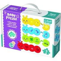 Trefl Puzzle Baby Barvy, 4 ks