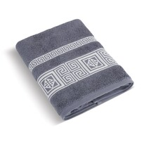 Ręcznik kąpielowy Grecka kolekcja szaroniebieski