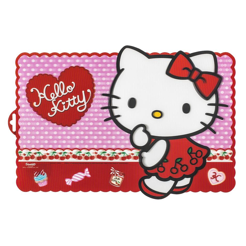 Banquet Prestieranie Hello Kitty red 2, 44 x 30 cm