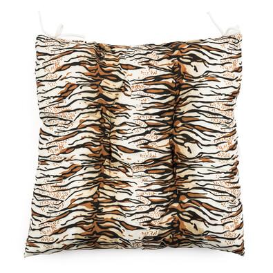 Sedák Tygr hnědá, 40 x 40 cm