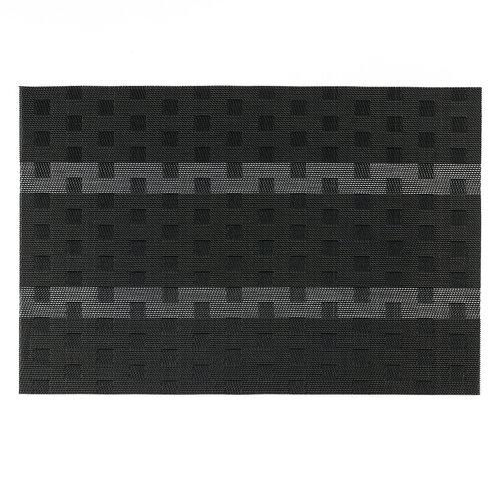 Prestieranie Grid čierna, 30 x 45 cm, súprava 4 ks