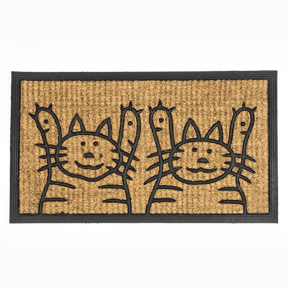 BO-MA Trading Rohožka slabá mačky 2, 40 x 70 cm