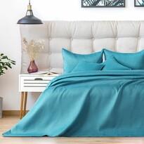 AmeliaHome ágytakaró Carmen turquoise, 220 x 240 cm