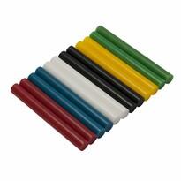 Asist 71-3207 olvadékpatronok, 12 db, 11 mm, színes