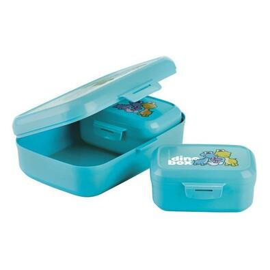 Tescoma Dino egészséges uzsonna doboz 3db, kék