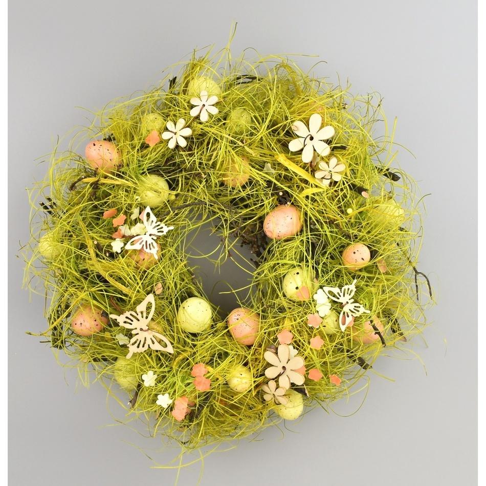 Velikonoční věnec Spring Grass, pr. 27 cm