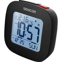 Sencor SDC 1200 B zegar z budzikiem, czarny