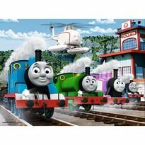 Trefl Puzzle, Thomast, a gőzmozdony, Verseny a vágányokon, 30 részes