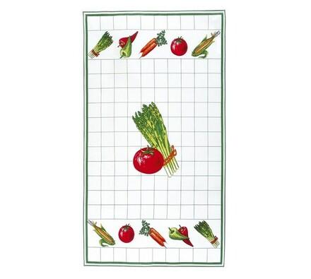 Kuchyňská utěrka rajče, 40 x 70 cm