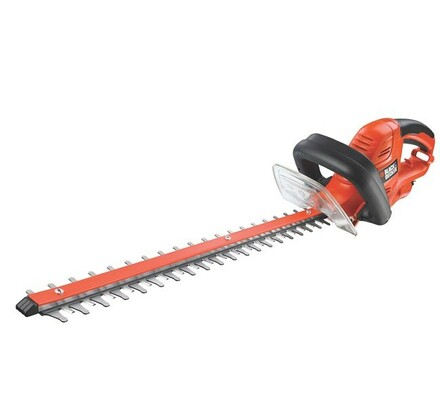Elektrické nůžky na živý plot Black and Decker GT , červená
