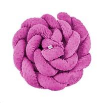 Belisima Ochraniacz do łóżeczka Warkocz, różowy