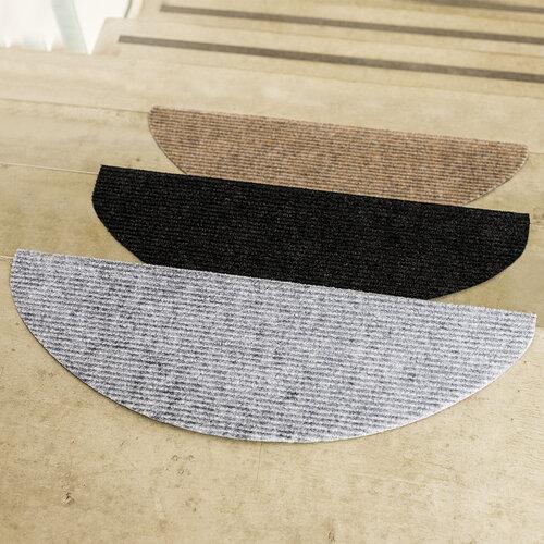 Nášľap na schody Quick step čierna, 24 x 65 cm