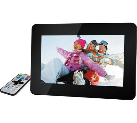 Digitální fotorámeček SDF 1060 B, Sencor, černá, 25, 9 cm