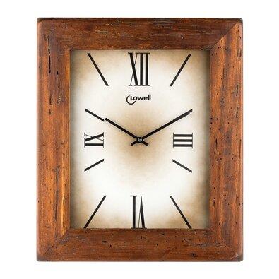 Lowell 03500C Designové nástěnné hodiny 39 x 33 cm