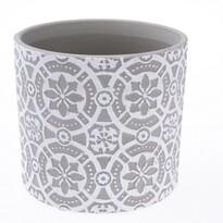 Osłonka ceramiczna na doniczkę Rozetta, śr. 13,5 cm