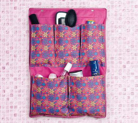 Koupelnový kapsář 45 x 60 cm, růžová, 45 x 65 cm