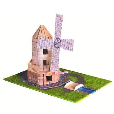 BRICK TRICK Stavebnica Veterný mlyn