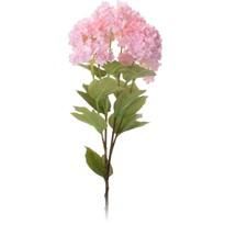 Umelá kvetina Viburnum ružová, 61 cm