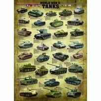 EuroGraphics Puzzle Tanky 2. svetovej vojny, 1000 dielikov