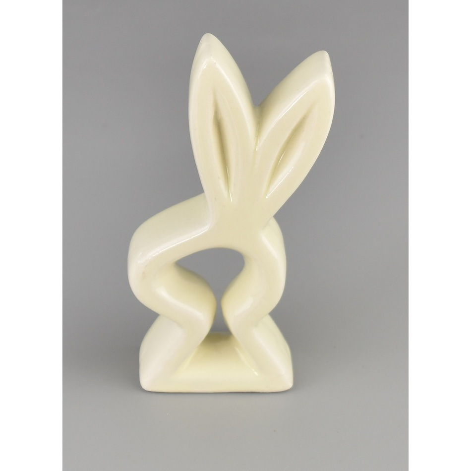 Velikonoční keramická ozdoba Hlava zajíčka