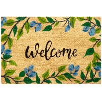 Welcome Levelek kókusz lábtörlő, 40 x 60 cm