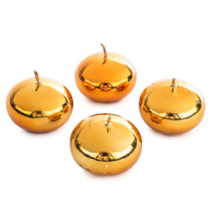 Svíčka oranžová 4 ks