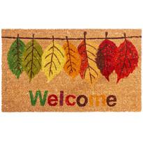 Welcome Leaf kókusz lábtörlő, 43 x 73 cm