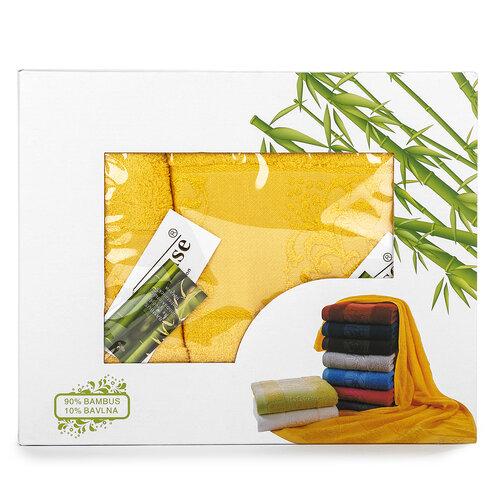 Set cadou bambus Ankara galben