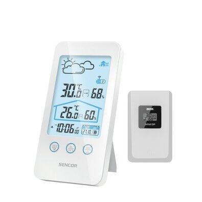 Sencor SWS 3000 W Meteorológiai állomás vezeték nélküli érzékelővel, fehér
