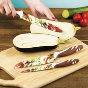 Banquet Sada nožů s nepřilnavým povrchem Zelenina