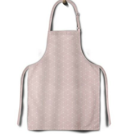 Domarex Zástěra Cook&Fun růžová, 65 x 75 cm