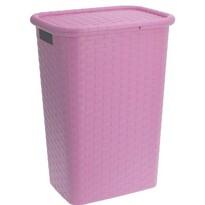 Koopman szennyestartó kosár, 60 l, rózsaszín