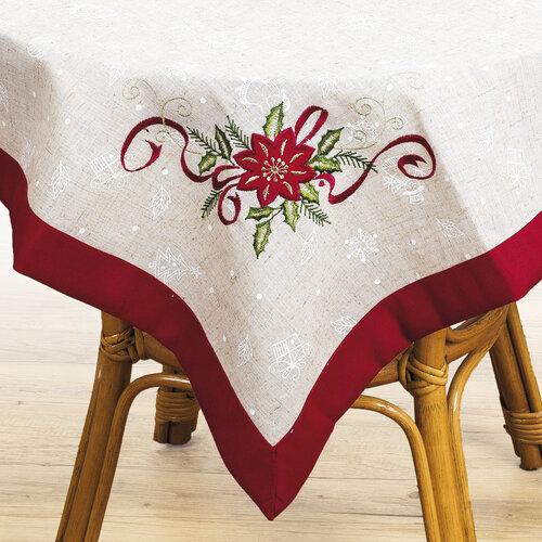 Vianočný obrus Hviezda, 85 x 85 cm