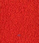 Napínací froté prostěradlo, červená, 180 x 200 cm
