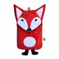 Hugo Frosch Dětský termofor Eco Junior Comfort s motivem lišky, červená