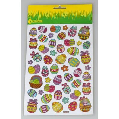 Velikonoční obtisky vajíčka, sada 3 ks