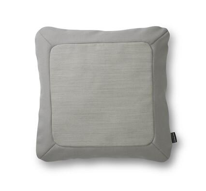 Polštářek Frame 50 x 50 cm, měkce šedý