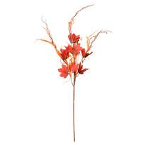 Dekoracje jesienne gałązka klonu z trawą, wys. 70 cm