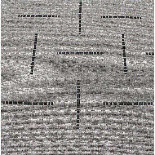 Kusový koberec Floorlux silver/black 20008, 60 x 110 cm