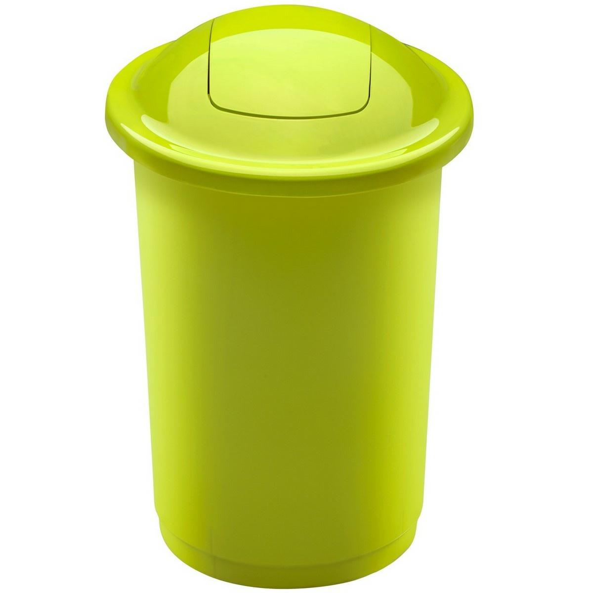 Coș de sortare deșeuri Aldo Top Bin, 50 l, 122 x 44 cm, verde imagine 2021 e4home.ro
