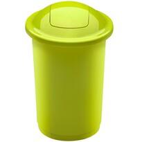 Coș de sortare deșeuri Aldo Top Bin, 50 l, 122 x 44 cm, verde