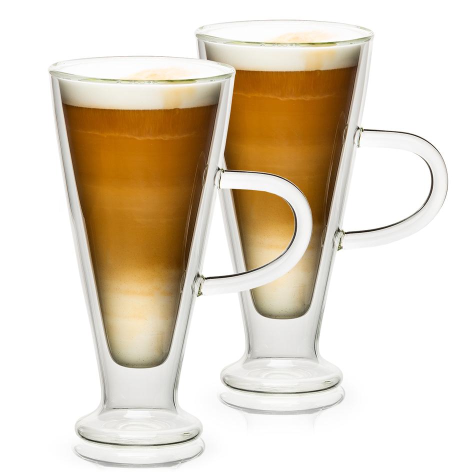 Fotografie 4home Termo sklenice Latte Elegante Hot&Cool, 230 ml, 2 ks