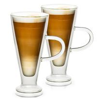 4Home Termo sklenice Latte Elegante Hot&Cool 230 ml, 2 ks